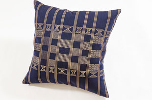 PIL384: Nzuri Minna Indigo Blue Pillow