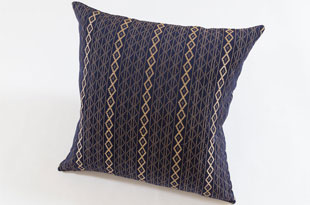 PIL385: Nzuri Mbake Indigo Blue Pillow