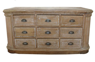 FRN742: Oak Chest of Drawers