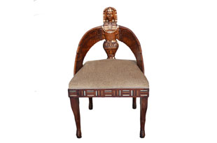 FRN857: Egyptian Revival English Chair