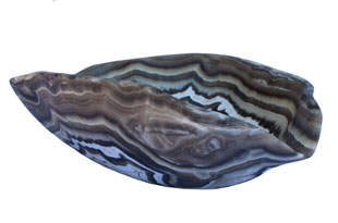 ACC4084: Free-Form Hand Carved Onyx Bowl