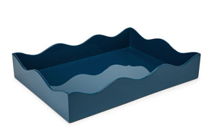 ACC3510: Large Belles Rives Tray - Marine Blue