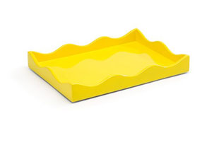 ACC3513: Small Belles Rives Tray - Citron Yellow