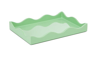 ACC3514: Small Belles Rives Tray - Mint