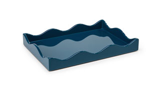 ACC3515: Small Belles Rives Tray - Marine Blue