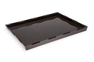 ACC3534: Large Denston Tray - Chocolate Brown