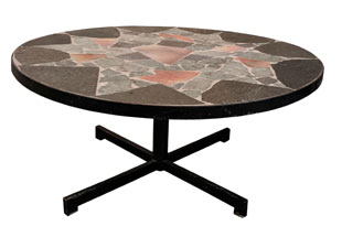 FRN898: Mosaic Stone Coffee Table
