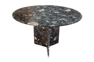 FRN902: Black Marble Dining Table