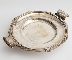 ACC003: Harbinger NY - Silver Footed Platter