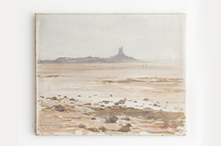 "Harbinger NY - ""Mount St. Michel"" by Charles Pierre Bernard"