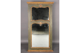 ACC728: Large Painted Trumeau Mirror