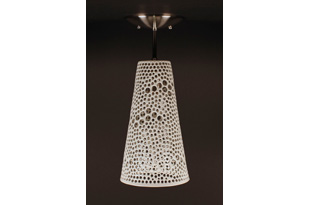 LIT229: Ceiling Light: White (#2013-H-105)
