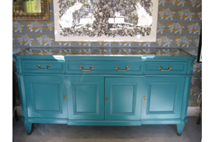 FRN385: Buffet Console Table - emerald