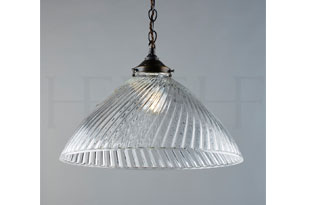 : Hector Finch Tiber Pendant Large, Clear