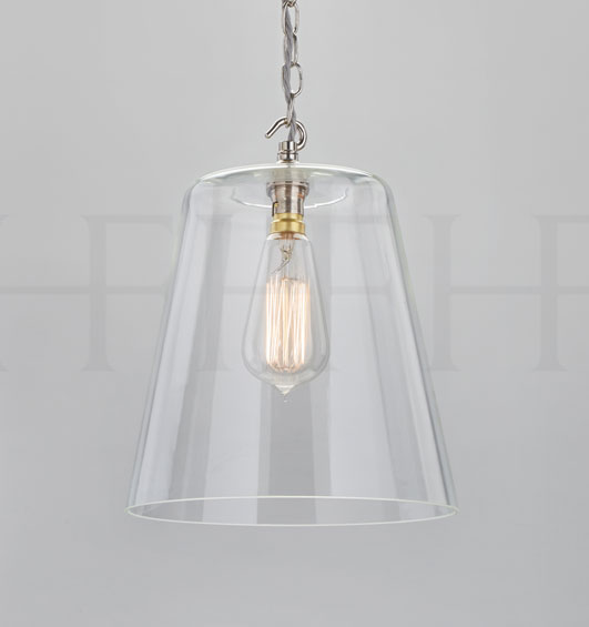 & Hector Finch Glass Bell Shade | Hector Finch | Harbinger