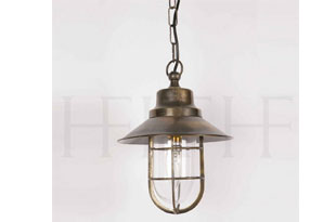 : Hector Finch Wheelhouse Pendant Including GO24 Shade