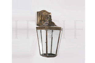 : Hector Finch Chelsea Overhead Arm Wall Light