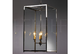 : Hector Finch Pendant Box Lantern Large