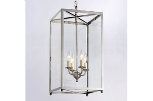 : Hector Finch Pendant Box Lantern Small