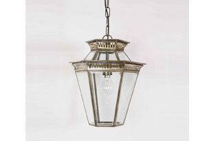 : Hector Finch Bevelled Glass Lantern