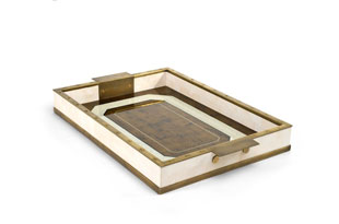 ACC3173: The Lacquer Company Eglomise Tray