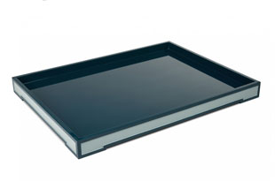 ACC3175: The Lacquer Company Large Suffolk Tray - Teal