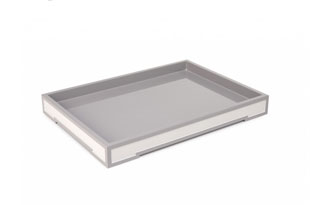 ACC3176: The Lacquer Company Small Suffolk Tray - Grey