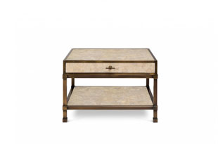 FRN669: The Lacquer Company Gambrel Coffee Table