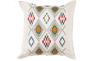 PIL312: Coral & Tusk Portico Ivory Pillow