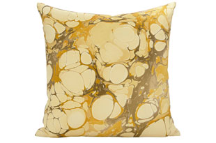 : Rule Of Three Seastone Amarillo Square Pillow
