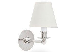 : Ann Morris PT Sconce for Fabric Shade