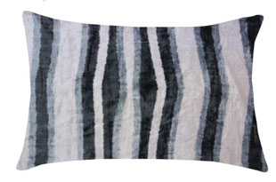 PIL346: Diodba Black Gray Abstract Stripe