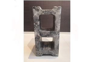 ACC3133: Concrete Cat Infiniti Unit Oracle in Grey/White Marble
